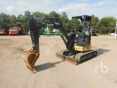 2017 JOHN DEERE 26G Mini Excavator (1 - 4.9 Tons)