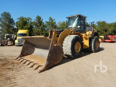 2012 CATERPILLAR 980K Wheel Loader