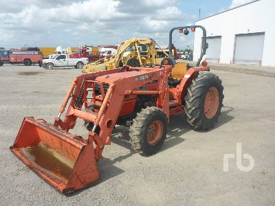 KUBOTA MX5000D 4WD Utility Tractor