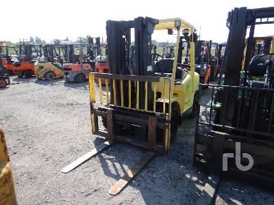 2006 HYSTER H80XM 7350 Lb Forklift