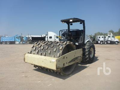 2007 INGERSOLL-RAND SD105F Vibratory Padfoot Compactor