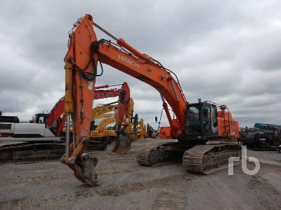2010 HITACHI ZX450LC-3 Hydraulic Excavator