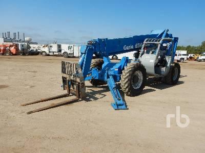 2006 GENIE GTH-1056 10000 Lb 4x4x4 Telescopic Forklift