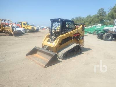 2014 CATERPILLAR 257D Multi Terrain Loader