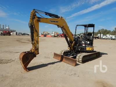 2016 YANMAR VIO55-6A Mini Excavator (1 - 4.9 Tons)