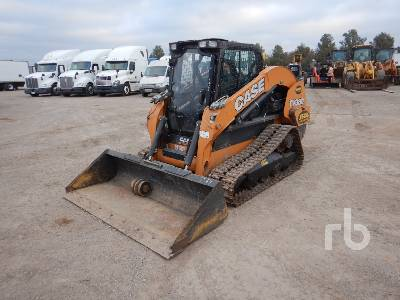 2017 CASE TV380 2 Spd High Flow Compact Track Loader