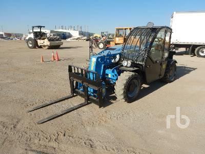 2017 GENIE GTH2506 5500 Lb 4x4x4 Telescopic Forklift
