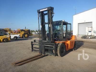 2014 DOOSAN D130S5 27750 Lb Forklift