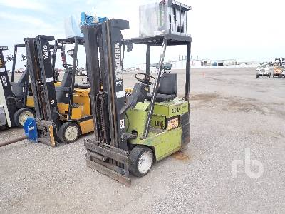 CLARK TM15S Electric Forklift