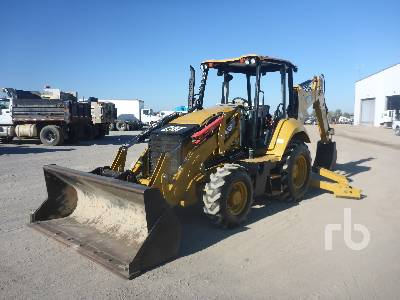 2015 CATERPILLAR 420F2 IT 4x4 Loader Backhoe