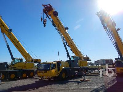 2017 GROVE GMK5150 10x6x10 All Terrain Crane