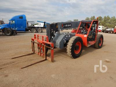 2015 SKYJACK VR1044E 10000 Lb 4x4x4 Telescopic Forklift