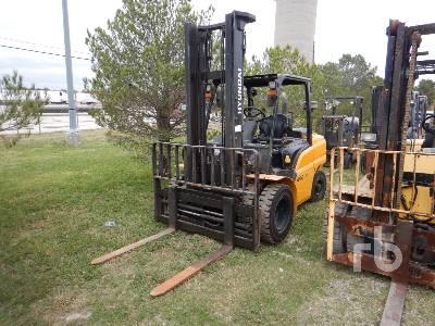 2018 HYUNDAI 45D 9000 Lb Forklift