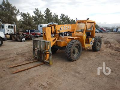 1991 GEHL 1083 8000 Lb 4x4x4 Telescopic Forklift