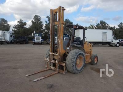 CASE 580G Rough Terrain Forklift
