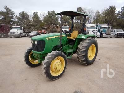 JOHN DEERE 5075E MFWD Tractor