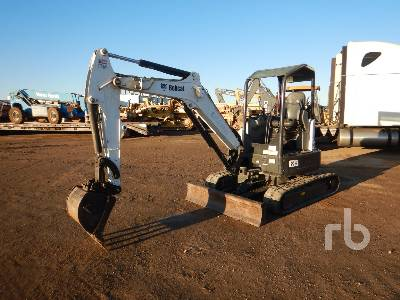 2016 BOBCAT E35I Mini Excavator (1 - 4.9 Tons)