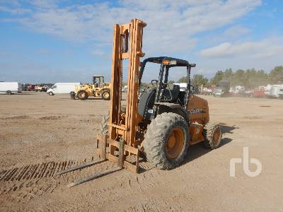 CASE 586G 6000 Lb Rough Terrain Forklift