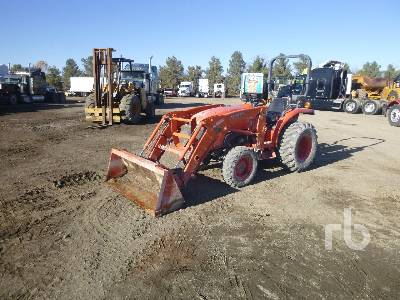 2012 KUBOTA L3800D 4WD Utility Tractor