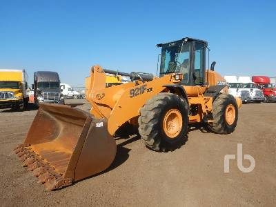 2012 CASE 921F XR Wheel Loader