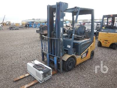 2012 CATERPILLAR 2EPC5000 4740 Lb Electric Forklift