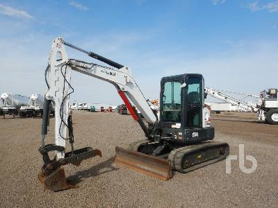 2015 BOBCAT E50 Midi Excavator (5 - 9.9 Tons)