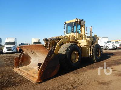 1988 CATERPILLAR 980C Wheel Loader
