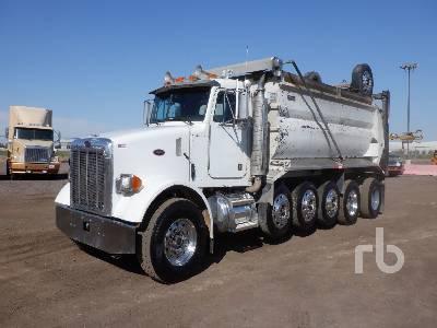 2004 PETERBILT 357 Super 18 Dump Truck (Quad/A)