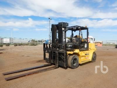 2013 HYUNDAI 70D-7E 15425 Lb Forklift