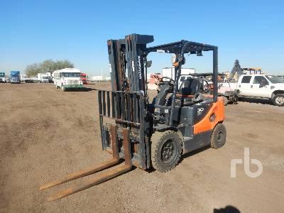 2015 DOOSAN G30E5 5450 Lb Forklift