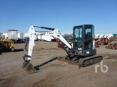 2015 BOBCAT E35 ZTS Mini Excavator (1 - 4.9 Tons)