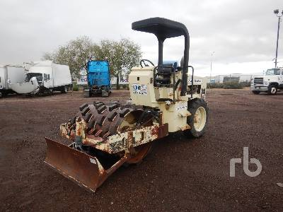 2000 INGERSOLL-RAND SD40F Vibratory Padfoot Compactor