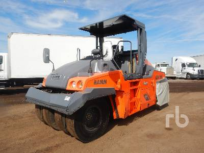 2015 HAMM GRW280I-25 4 Wheel Pneumatic Roller