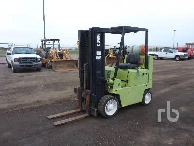 1990 CLARK C500 5000 Lb Forklift