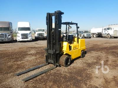 1996 HYSTER S120XL 11400 Lb Forklift