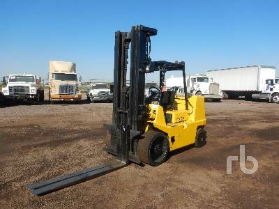 1997 HYSTER S155XL 15000 Lb Forklift