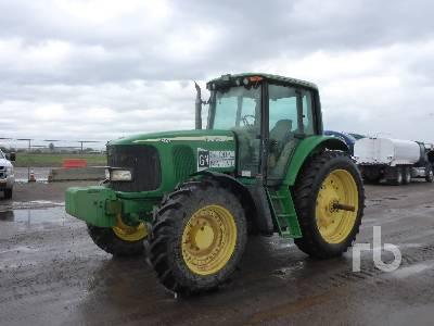 2007 JOHN DEERE 7420 MFWD Tractor