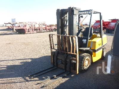 YALE GLP080LJNGBE894 7150 Lb Forklift