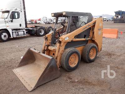 2002 CASE 40XT Skid Steer Loader