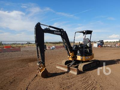 2013 JOHN DEERE 35D Mini Excavator (1 - 4.9 Tons)