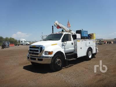 2007 FORD F750 4x2 Mechanics Truck
