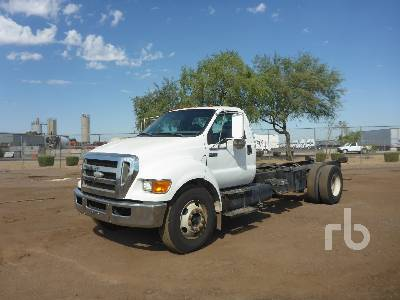 2008 FORD F650 4x2 Cab & Chassis
