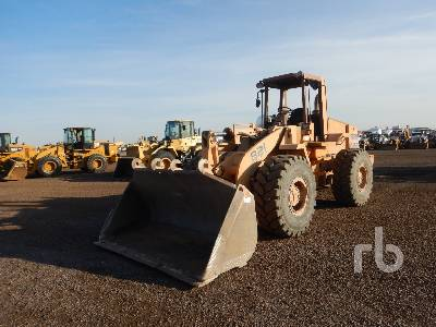 1991 CASE 821 Wheel Loader