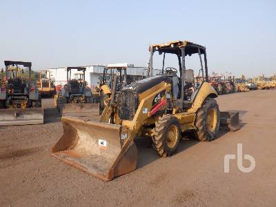 2007 CATERPILLAR 414E IL 4x4 Skip Loader