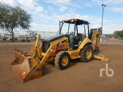 2007 CATERPILLAR 420E 4x4 Loader Backhoe