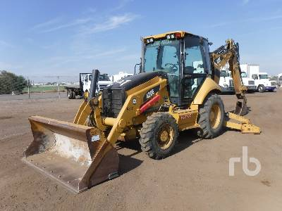 2009 CATERPILLAR 420E 4x4 Loader Backhoe