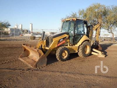 2006 CATERPILLAR 420E 4x4 Loader Backhoe