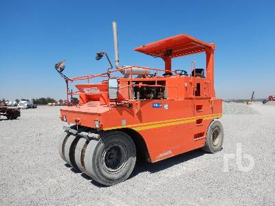 2008 HAMM GRW18 8 Wheel Pneumatic Roller