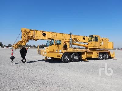 1996 GROVE TMS760 60 Ton 8x4x4 Hydraulic Truck Crane