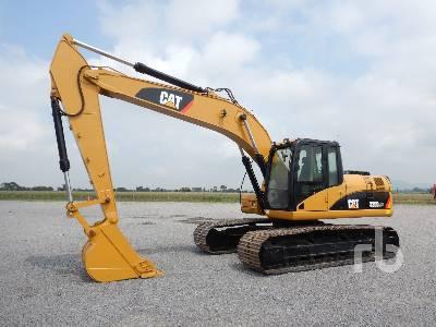 2008 CATERPILLAR 320D Hydraulic Excavator